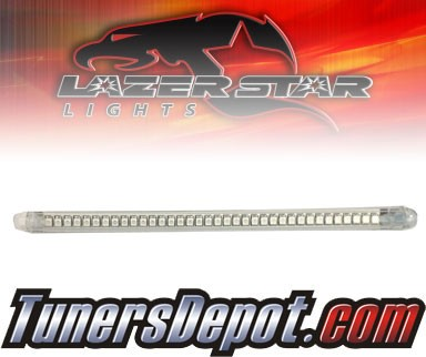 Lazer Star® Clear Flexable LED Light Strip - 6&quto; (Red)