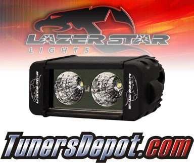 Lazer Star® Discovery 6&quto; Single Row Light Bar - Dual LED Flood Light (10w)