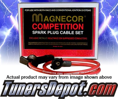 Magnecor® Spark Plug Wires (8.5mm) - 89-92 Pontiac Bonneville V6 (except 1992 supercharged engine)