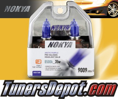 NOKYA® Arctic Purple Fog Light Bulbs - 2012 Chevy Camaro (H16/9009/5202)