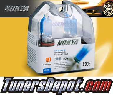 NOKYA® Arctic White Bulbs (Low Watt) - Universal 9005 / HB3 (65W)