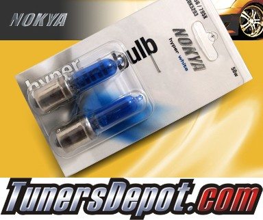 NOKYA® Arctic White Daytime Running Light Bulbs - 10-11 Mitsubishi Lancer (1156/7506)