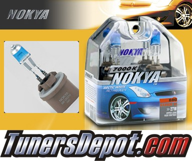 NOKYA® Arctic White Fog Light Bulbs - 09-11 Nissan Titan (880/889)