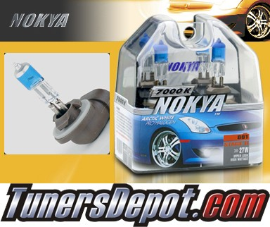 NOKYA® Arctic White Fog Light Bulbs - 10-11 Hyundai Genesis 2dr (881/898)
