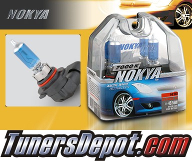 NOKYA® Arctic White Fog Light Bulbs - 2009 Mitsubishi Raider (H10/9145)