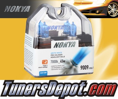 NOKYA® Arctic White Fog Light Bulbs - 2012 Ford Mustang GT500 (H16/9009/5202)
