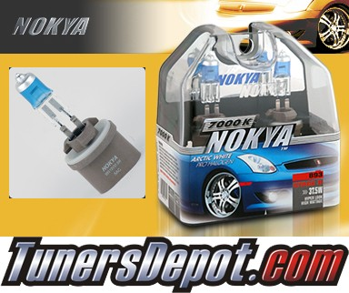 NOKYA® Arctic White Fog Light Bulbs - 97-00 Chevy Corvette (893)