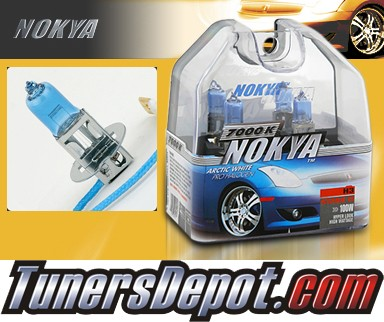 NOKYA® Arctic White Fog Light Bulbs - 97-06 Mitsubishi Diamante (H3)