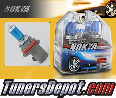 NOKYA® Arctic White Headlight Bulbs - 92-06 Ford Econoline Van (9007/HB5)