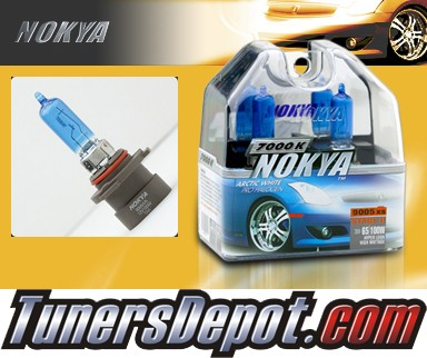 NOKYA® Arctic White Headlight Bulbs (High Beam) - 03-07 Cadillac CTS w/ Replaceable Halogen Bulbs (9005XS)