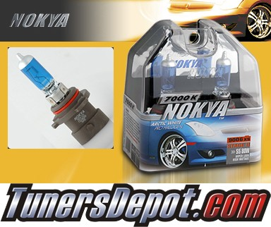 NOKYA® Arctic White Headlight Bulbs (Low Beam) - 03-07 Cadillac CTS w/ Replaceable Halogen Bulbs (9006XS)