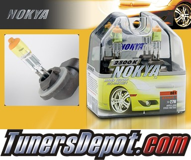 NOKYA® Arctic Yellow Fog Light Bulbs - 03-05 KIA Rio (881)