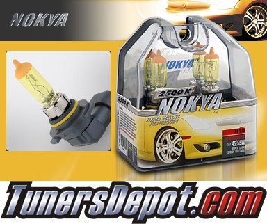 NOKYA® Arctic Yellow Fog Light Bulbs - 03-07 Cadillac CTS (H10)