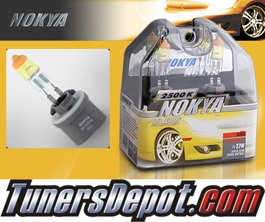NOKYA® Arctic Yellow Fog Light Bulbs - 97-03 Chevy Malibu (880)