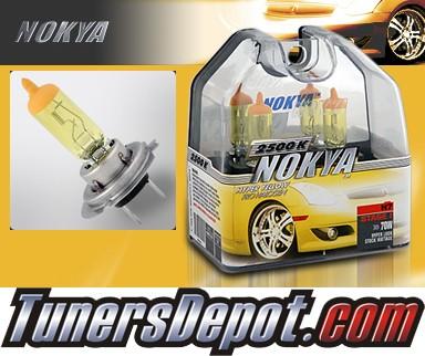NOKYA® Arctic Yellow Headlight Bulbs (High Beam) - 2013 Mercedes Benz C300  S204/W204 (H7)