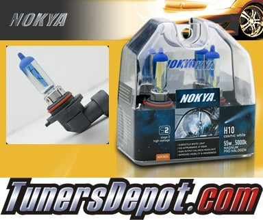 NOKYA® Cosmic White Fog Light Bulbs - 2009 Dodge Grand Caravan (H10/9145)