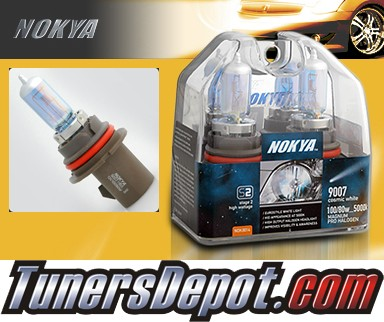 NOKYA® Cosmic White Headlight Bulbs - 97-03 Ford Escort (9007/HB5)