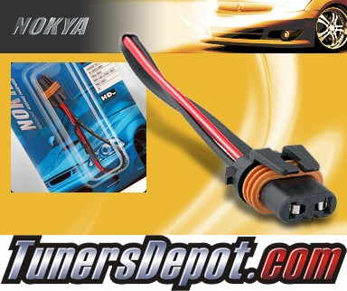 NOKYA® Heavy Duty Headlight Harnesses (High Beam) - 02-06 Chevy Trailblazer (9005/HB3)