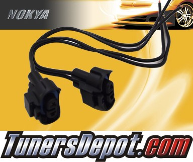 NOKYA® Heavy Duty Headlight Harnesses (Low Beam) - 2011 Mitsubishi Outlander Sport (H11)