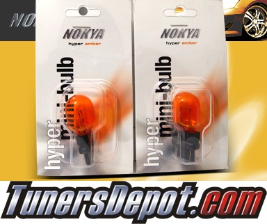 NOKYA® Hyper Amber Rear Turn Signal Light Bulbs - 2010 Nissan Armada