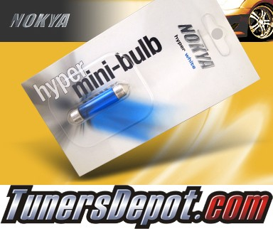 NOKYA® Hyper White License Plate Bulbs - 2010 BMW 528i 4dr E60