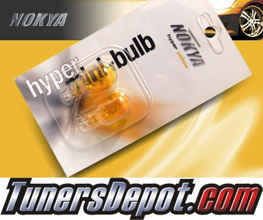 NOKYA® JDM Yellow Front Sidemarker Light Bulbs - 2009 Honda Accord 4dr Sedan