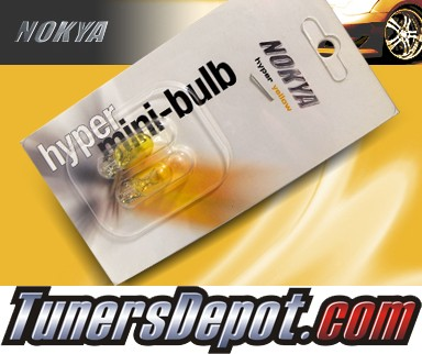 NOKYA® JDM Yellow Front Sidemarker Light Bulbs - 2010 Cadillac Escalade