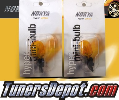 NOKYA® JDM Yellow Rear Turn Signal Light Bulbs - 2010 Nissan Armada