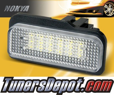 NOKYA LED Rear License Plate Lamps - 03-09 Mercedes Benz E350 W211