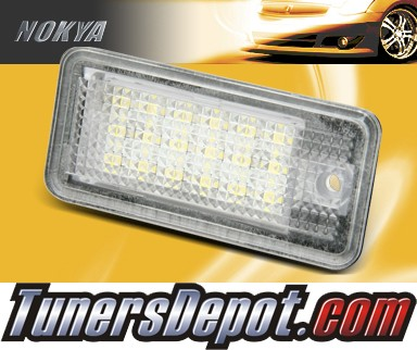 NOKYA LED Rear License Plate Lamps - 05-09 Audi A6 4F