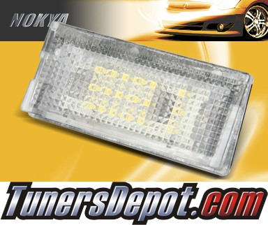 NOKYA LED Rear License Plate Lamps - BMW 99-05 E46 4dr