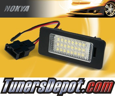 NOKYA LED Rear License Plate Lamps (with Resistor) - 2010 Audi A4 (B8)