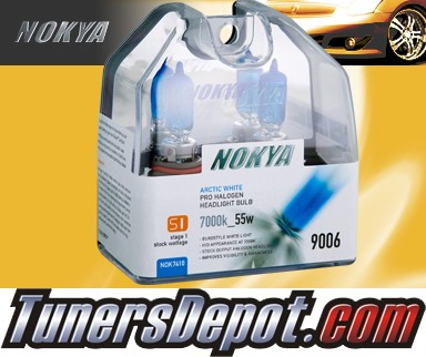 NOKYA® Stage I Arctic White Bulbs - Universal 9006 / HB4 (Low Watt 55W)
