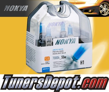 NOKYA® Stage I Arctic White Bulbs - Universal H1 (Low Watt)