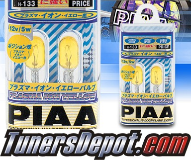 PIAA® Ion Yellow Rear Sidemarker Light Bulbs - 2010 Hyundai Accent 3dr Hatchback