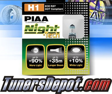 PIAA® Night-Tech Headlight Bulbs (High Beam)- 2012 Hyundai Elantra (H1)