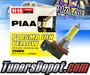 PIAA® Plasma Ion Yellow Fog Light Bulbs - Universal JDM H16