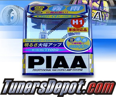 PIAA® Plasma Ion Yellow Headlight Bulbs (High Beam) - 10-11 KIA Forte 2dr/4dr (H1)