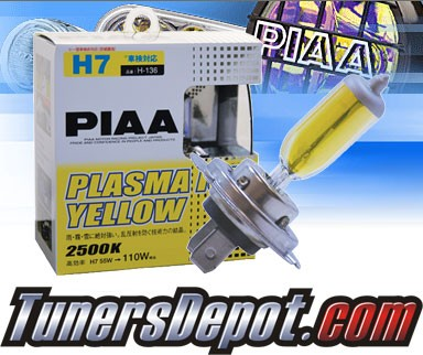 PIAA® Plasma Yellow Fog Light Bulbs - 2013 Mercedes Benz SL550 R230 (H7)