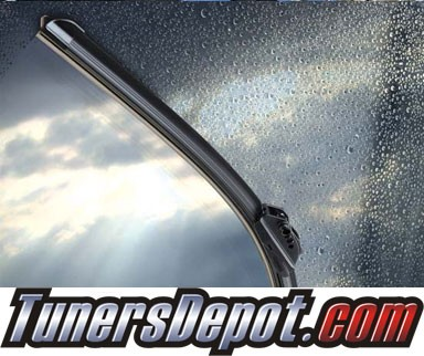 PIAA® SI-Tech Silicone Blade Windshield Wiper (Single) - 94-01 Mercedes Benz SL500 R129 (Front)