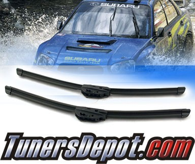 PIAA® Si-Tech Silicone Blade Windshield Wipers (Pair) - 08-11 Subaru Impreza (Incl. WRX/STI) (Driver & Pasenger Side)