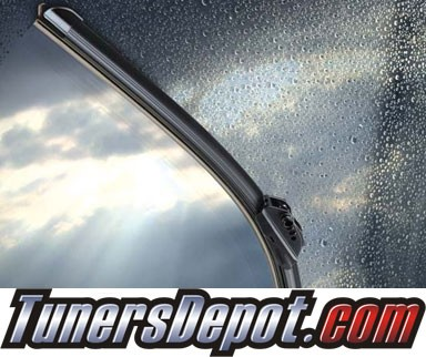 PIAA® Si-Tech Silicone Blade Windshield Wipers (Pair) - 1991 Pontiac Tempest (Driver & Pasenger Side)