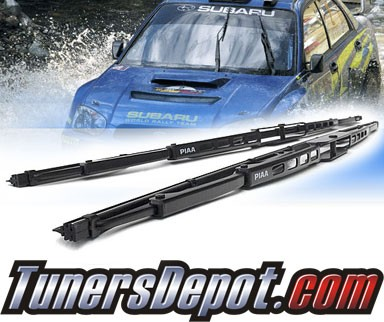 PIAA® Super Silicone Blade Windshield Wipers (Pair) - 11-13 Mazda 2 (Driver & Pasenger Side)