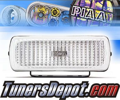 PIAA® Universal 1500Xt Back Up Flood Reverse Lights - 6&quto; x 2 1/16&quto; Rectangle (Clear)