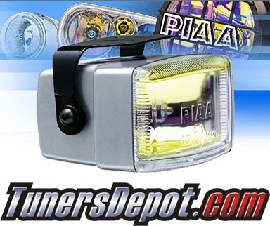 PIAA® Universal 2000i Fog Lights - 4&quto; x 2&quto; Rectangle (Ion Yellow)