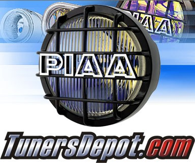 PIAA® Universal 520 Black Fog Lights - 6 1/4