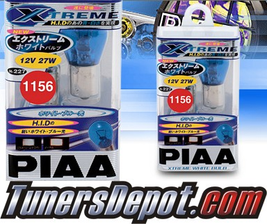 PIAA® Xtreme White Front Turn Signal Light Bulbs - 2009 VW Volkswagen Rabbit
