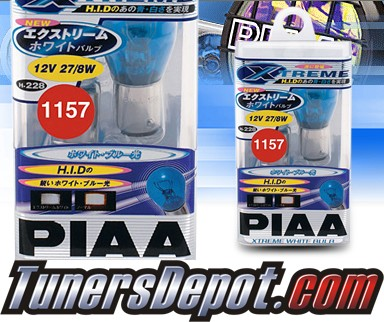 PIAA® Xtreme White Front Turn Signal Light Bulbs - 2010 Hyundai Accent 3dr Hatchback