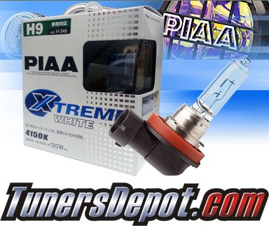 PIAA® Xtreme White Headlight Bulbs - Universal (H9)