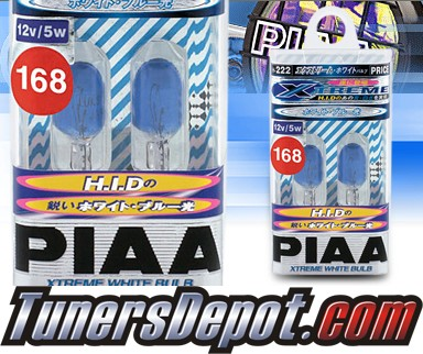 PIAA® Xtreme White License Plate Bulbs - 2009 Honda Civic 4dr Sedan
